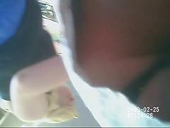 voyeur blonde's  teen shopping