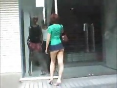 Upskirt Asian