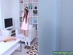 Teen Japanese Girl Get Hard Sex movie-26