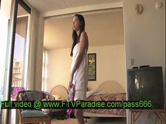 Faye and Larysa tender two hot babes in hotel room changing clothes