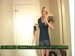 Brynn tender amazing blonde babe in a hotel room