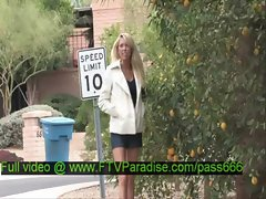 Brynn tender superb blonde babe walking down the street