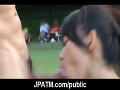 Young Japanese Teens Outdoor Exposing and Fucking 16