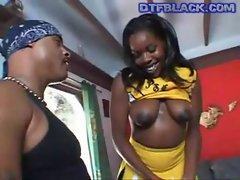 DTFBlack.com Porn Cheerleader Gets Fucked