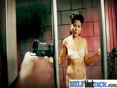 Big Black Dicks Inside Sexy Busty Milfs movie-25