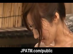 Young Japanese Teens Outdoor Exposing and Fucking 09