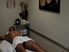 Sexy asian masseuse loves to suck