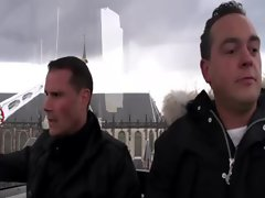 Looking for a different ride in Amsterdam with his guide