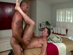 Straighty gets harsh anal