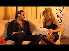 Euro MILF Alessandra Schiavo fucks the shoe salesman