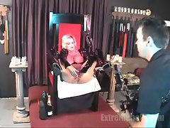 Extremehole Behind the scenes. Huge bottle fuck.
