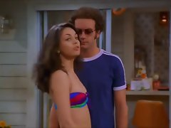 Mila Kunis &amp, Laura Prepon That 70s Show Bikini &amp, Burlesque