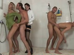 Bisexual Shower Party 1