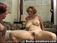 Samatha blows cock and pussy licked