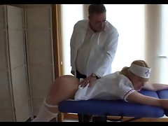 Nurse Gets a Sound Spanking - Cireman