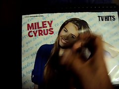 Tribute 4 - Miley Cyrus gets her face covered!!