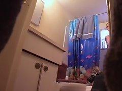 Hidden Camera Shower
