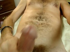 Great Beating Off Cum Video in my bed in front of mirror