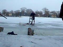 Skinny Dip into Freezing Water #3