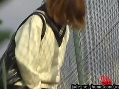 Outdoor Excretion Series Girls Peeing While Standing Up