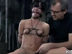 Hot Babe Shaved and Bound