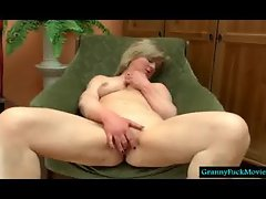 grandma filmed fingering and sucking toy