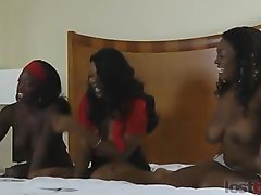 Strip Memory with Amani, Tiana, and Alicia