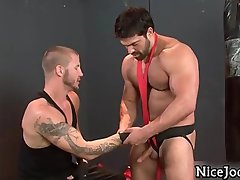 Amazing sexy gay jocks fuck ass and suck part3
