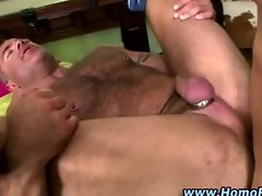 Straight guy fucks ass hard