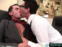 Seth having some gay porn fun with colleague By WorkingCock part4