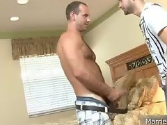 Married dude gets dick sucked 2 part4