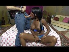 Afro American cream pie 3 - Scene 2