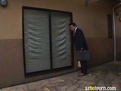 AzHotPorn.com - Housewife Weird Fetish Underwear Thief Wife