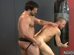 Hot jock gets assfucked at gym part4