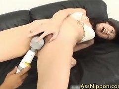 Big Asian Butt Masturbation part2