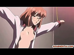 Busty hentai groupfucked and gangbanged by tentacles