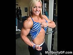Stunning Muscular GFs!