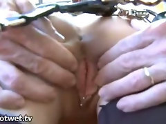An Excited Sexy Housewife Held Captive