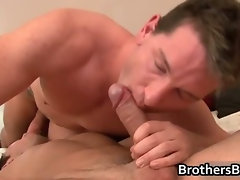 Alexander gets his horny gay cock sucked