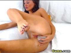 Russian Teen Pleasuring herself HD