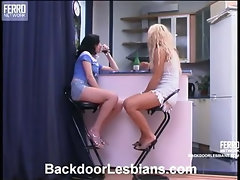 Elvira&Millie horny anal lesbian action