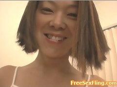 Amateur Petite Asian Babe Lap Dance