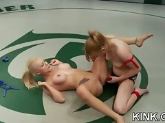 Hot girl dominated