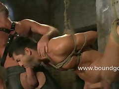 Avery fucks them until he blows his load