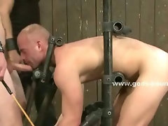 Asian gay master brings oriental bondage sex teachings to his slaves teaching them