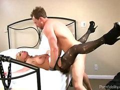 Hungarian Teen Slut Enjoys Big American Cock