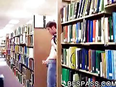 Cumming at the library