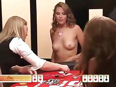 Strip Poker starring  Erica Schoenberg