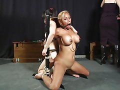 Bound women abused with passion