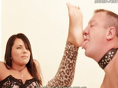 Megan & Jennifer - Cruel Feet Domination